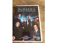 BRAND NEW MURDER ON THE ORIENT EXPRESS DVD