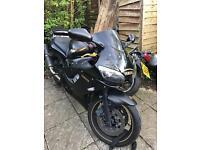Yamaha r6. 5eb 600 cc black and gold Low mileage