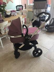 I candy peach 3 complete travel system