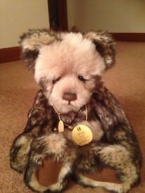 Charlie Bear - Pandy, (Retired) Fabulous condition