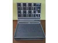 ETEK Note Mix MA 400. 14 channel mixing console, 200 x 200 watts 8 Ohms Digital effects, Guitar band