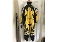 Texport Two Piece Men's Motorcycle Leathers