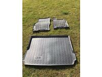 Genuine Audi Q2 rubber mats and boot liner