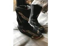 RST motorcycle boots size 9 mint