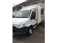 Iveco daily catering van with brand new 14ft back box