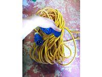 Hook up lead, 15m long