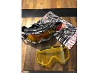 Electric/Volcom snowboarding goggles