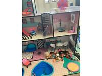 Lol doll house and furniture