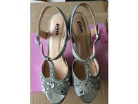 Wedding shoes size 41 Glitter heels Pink by Paradox London