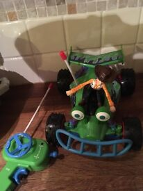 Toy story remote control car