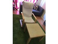 IKEA Chair and Table
