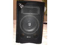 """Brand new 8"""" skytec 400w speakers x2"""
