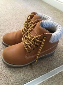 Girls size 12 next desert boots