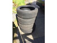 4 Continental 235/45 19inch Tyres.