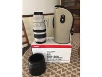 Canon EF 100-400mm F4.5-5.6L IS USM Zoom Lens