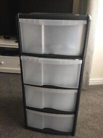 Plastic Drawers/Storage