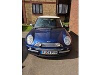 Mini Cooper. £2,000