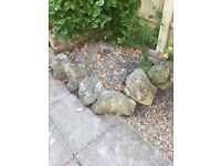 27 Large Decorative Garden Stones