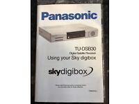 Manual for Panasonic Sky Digibox
