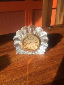 Waterford Crystal Shell Clock.