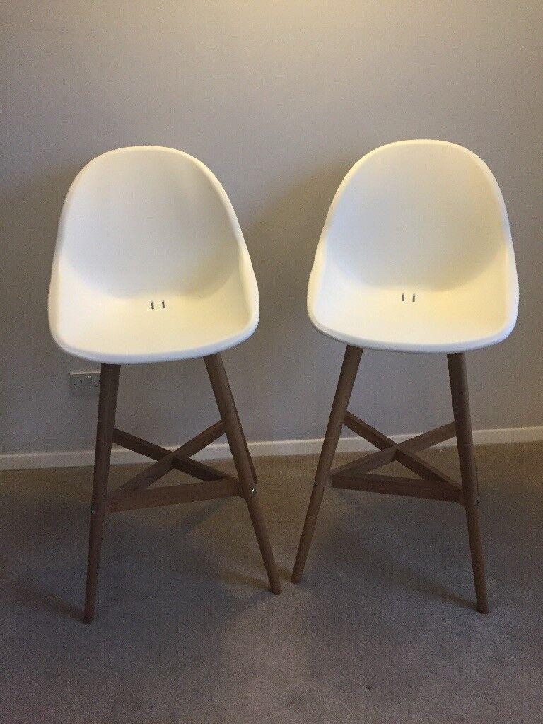 2x brand new IKEA Fanbyn bar stools -