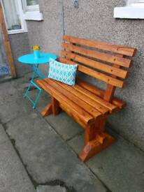 Garden seat / bench perfect condition. £90 ONO reduced as we need space in our garden :(