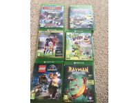 Selection of xbox games 12.00 each