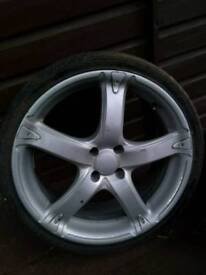 Set of alloy wheels - good condition