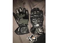 Brand new men's motor bike gloves