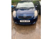 2006 Toyota Yaris T3 3dr 1.3 Petrol Blue BREAKING FOR SPARES