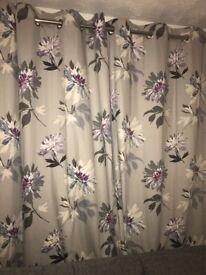"""Next Eyelet Curtains 135cm x 229cm drop (53"""" x 90"""")"""