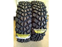 Two new off-road tyres 195/75 R14