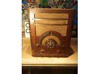 """Tuner radio - 1930s antique - Ultra 400 AW2418"""" RARE"""