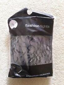 Dorothy Perkins: Fashion Tights - Small ** NEW**