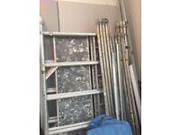 BOSS aluminium scaffold tower - 3T Ladderspan