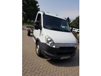 LAST ONE Iveco chassis cab LWB automatic 13reg (ideal tipper or recovery) NO VAT - MOT