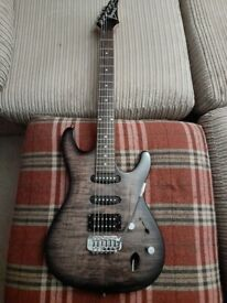 Ibanez sa160qm hss guitar.