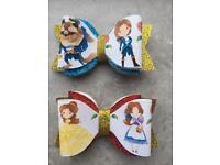 Handmade Disney bows