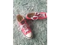 Ladies Converse size 8