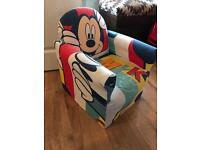 Child Mickey Mouse chair £8 ono
