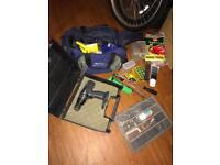 Tool bag with bundle of tools