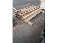 timber sleepers £5 each