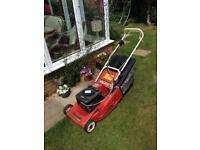 Petrol lawnmower. Mountfield lawn mower