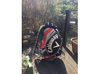 Immaculate condition Callaway Tour Bag. Unfortunately missing the Hood/Cover, all straps included.