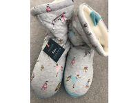 Joules slipper boots UK 7