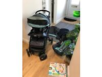 Graco Travel System + free mobile
