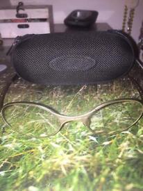 Oakley E Wire Glasses and Bullet Case