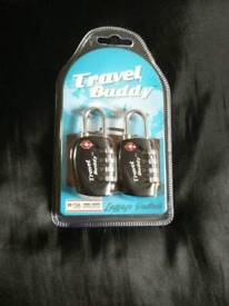 Travel Buddy luggage padlocks