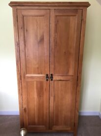 4 piece oak vaneer bedroom set