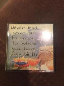 Never lend your car magnet